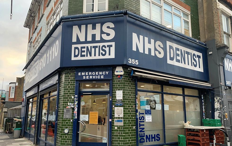NHS dentist practice