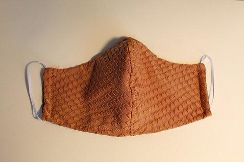 Cloth mask with animal print