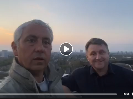 """Live """"On the Rooftop"""" with Brian Knox ex career criminal, hard man, enforcer and royal mar"""