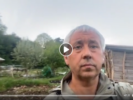 Live - Jon Wedger Update 4th May 2020