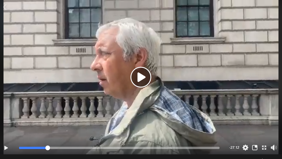 Parliament Square Live Jon Wedger 2nd May 2020