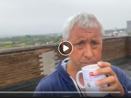 Jon Wedger Live Brew With A View - update, trolls, sra support for victims, thank you Tracy and Rita