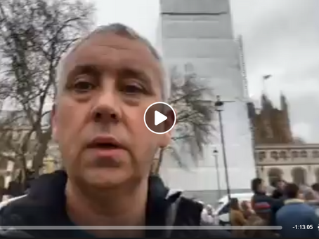 Live - Houses Of Parliament Demonstration January 2020