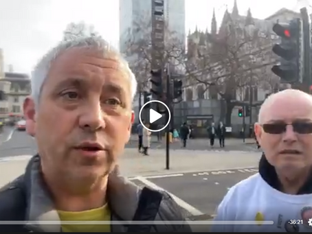 Live - Campaign For Justice February 8th 2020 - Parliament Demonstration