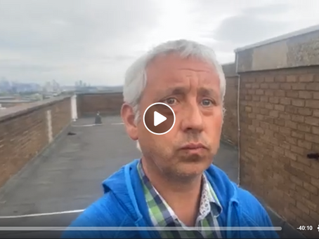 Live Jon Wedger Brew With A View - 3rd June 2020 Baptism, Black Lives Matter, Protest For Ellie...