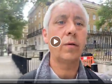 Live at Whitehall Parliament - Anti Child Abuse Protest 23rd May 2020