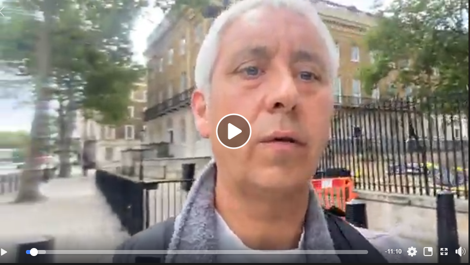 Live from Whitehall Parliament Anti Child Abuse Protest