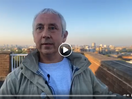 Live 'Brew With A View' Jon Wedger update 6th May 2020