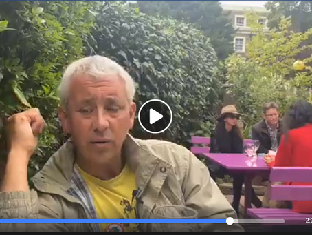 Live 4th July - Debrief from a London Pub and Live Hyde Park Protest video