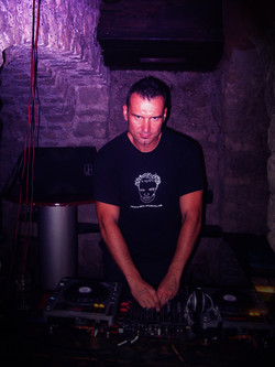 DJ OGI in the Catacombs!