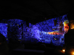 Lightart in the Catacombs!