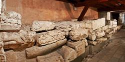 A roman city wall!