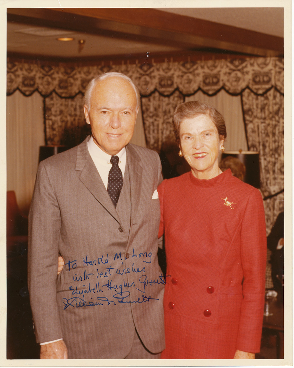 William T. & Elizabeth Hughes Gossett.