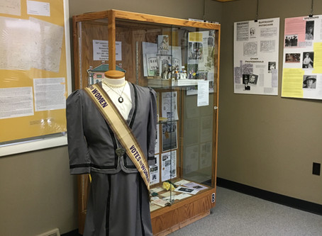 Suffragists in Warren County, NY