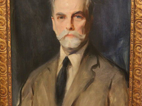 A portrait of Charles Evans Hughes