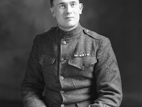 Monday Memories: WWI Soldier Frederick Dunsford