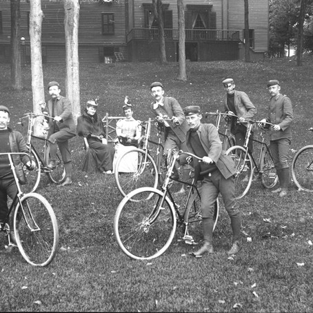 Bicycles on Sidewalks: Rufus M. Cole and the laws of Glens Falls, NY.