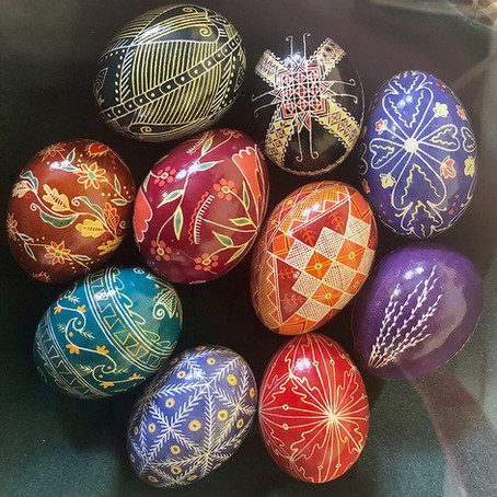 Celebrating Easter with Pysanky