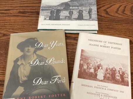 A Neighbor of Yesterday: Jeanne Robert Foster, Adirondack Poet