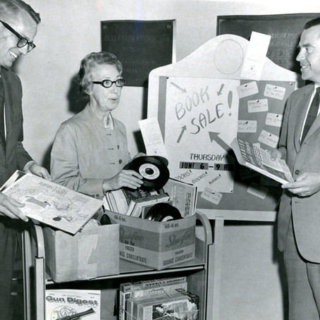 Book Sales: The First 25 Years of the Friends of Crandall Public Library