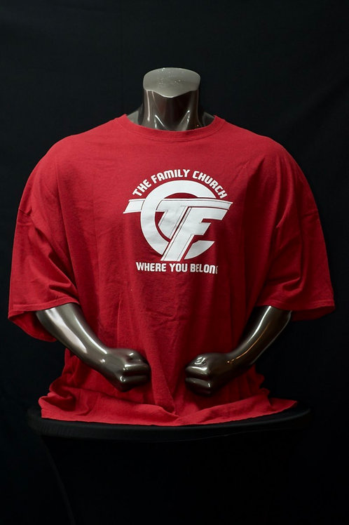 TFC Catalyst T-Shirt (Red & White)