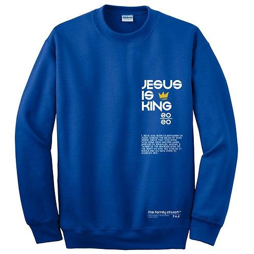 Jesus Is King Sweat Shirt
