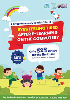 Myopia Recovery Special Offer