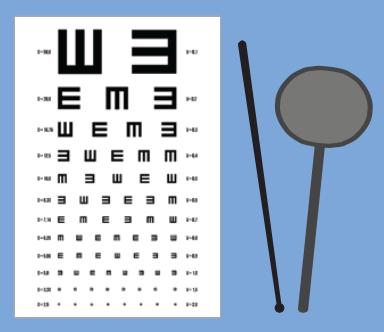 Vision Test Chart Set