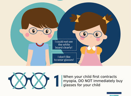 What Should You Do If Your Kid Have Myopia?