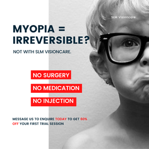 Myopia Treatment with SLM Visioncare