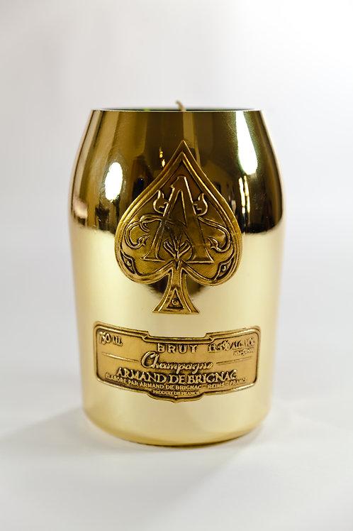 Ace of Spades Gold Metallic
