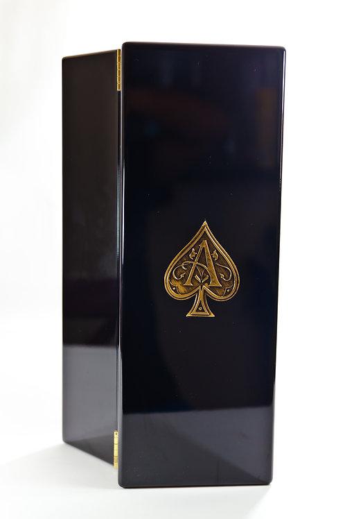 Ace of Spades Black Lacquer Box