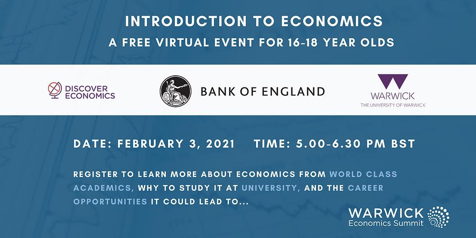 Warwick Economics Summit - Intro to Economics