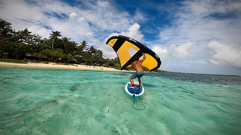 Marlo Gallardo Wing Surf