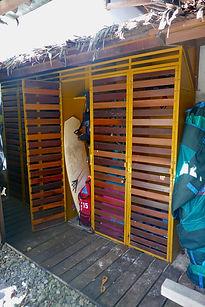 Kitesurfing equipment storage Siargao Philippines