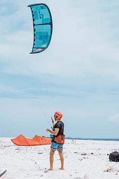 kitesurfing beginner lesson Philippines Asia Siargao