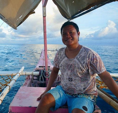 Marz Malaza Siargao Boat Captain