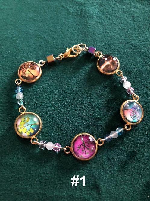 Colorful Hand-made Beaded Bracelets