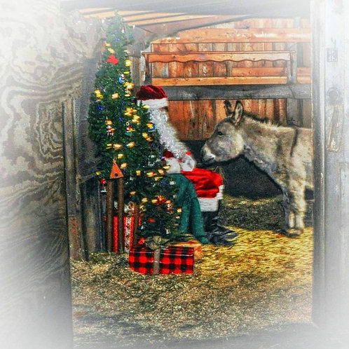 Peace for all Animals Christmas/ Holiday Card (pack of 12)