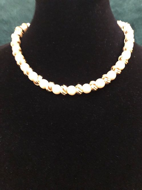 Ann Klein Faux Pearl Necklace