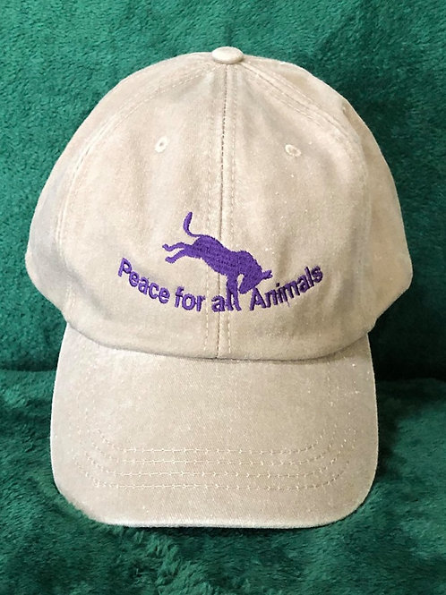 Peace for all Animals Hat