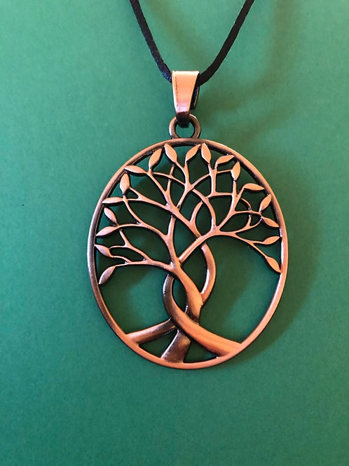BoHo  Antique Tree of Life Pendant