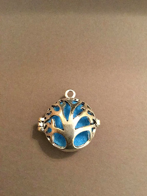 Aroma Therapy Essential Oil Locket Charm