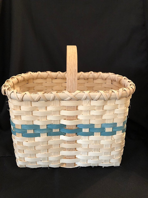 Handmade Wine Caddy Basket