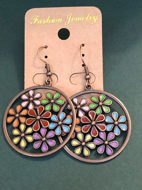 Flower Power BoHo Earrings