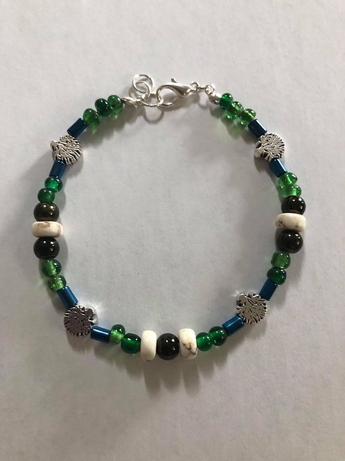 Petite Tree of Life Hand Beaded Bracelet