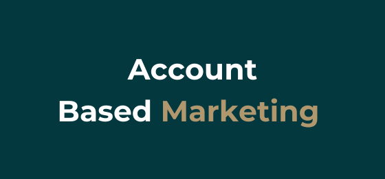 What is Account Based Marketing.