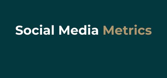 3 Social Media metrics that matter.