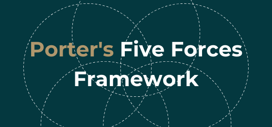 Porter's five forces framework.