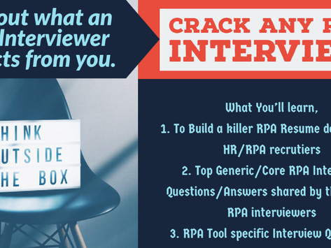 Crack Any RPA Interview